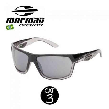 Lunettes MORMAII Amazonia II Noir / Transparent Homme - Cat.3