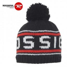 Bonnet de ski ROSSIGNOL Rony Noir Junior