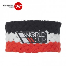 Bandeau de ski ROSSIGNOL World Cup Noir / Rouge Junior