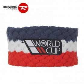 Bandeau de ski ROSSIGNOL World Cup Bleu Jean / Rouge Junior
