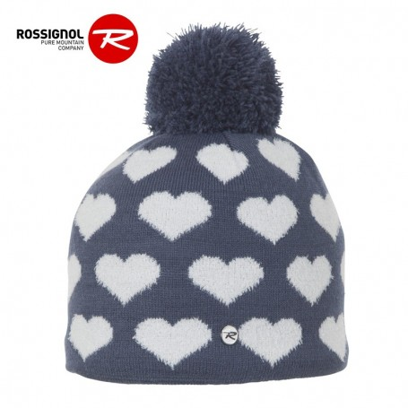 Bonnet de ski ROSSIGNOL Zia Bleu Jean Junior
