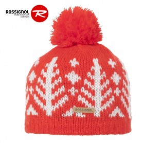 Bonnet de ski ROSSIGNOL Bily Rouge Orangé Junior