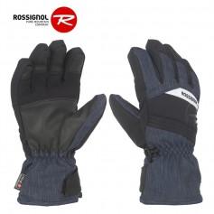 Gants de ski ROSSIGNOL Tech Bleu Jean Junior