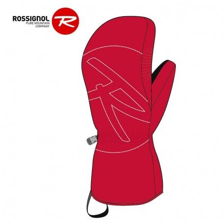 Moufles de ski ROSSIGNOL Rossi Rouge Orangé Junior