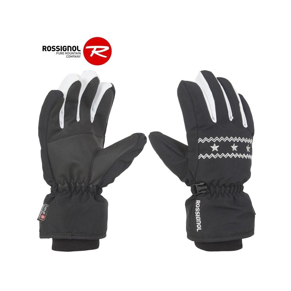 Gants de ski ROSSIGNOL Vicky Noir Fille