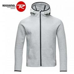 Sweat zippé ROSSIGNOL Lifetech HZ Gris Homme