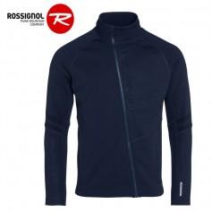 Veste zippée ROSSIGNOL Course Clim Bleu marine Homme