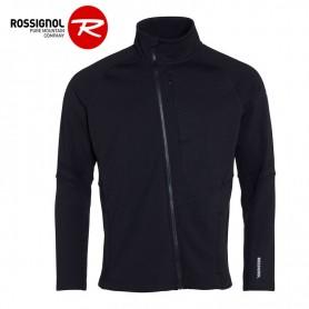 Veste zippée ROSSIGNOL Course Clim Noir Homme