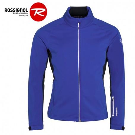 Prix Rossignol Softshell Tout Bleu Sport Ski De Veste Nordique A Homme pUBggq