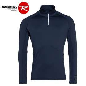 Maillot thermique ROSSIGNOL Classique 1/2 zip Bleu marine Homme