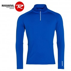 Maillot thermique ROSSIGNOL Classique 1/2 zip Bleu Homme