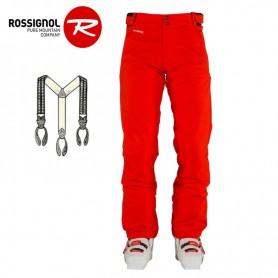 Pantalon de ski ROSSIGNOL Ski Pant Rouge Homme