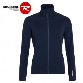 Veste zippée ROSSIGNOL Classique Clim Bleu nuit Femme