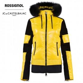 Doudoune de ski ROSSIGNOL JCC Kaissy Down Jaune Femme