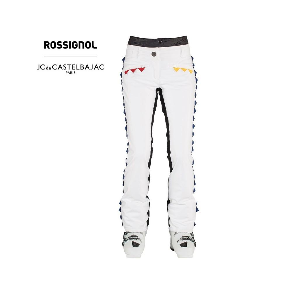 Pantalon de ski ROSSIGNOL JCC Winoki Blanc Femme