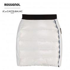Jupe en plume ROSSIGNOL JCC Kelys Blanc Femme