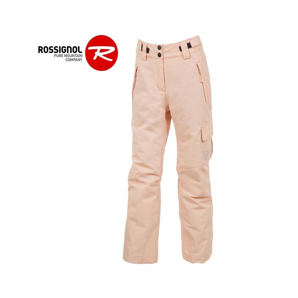 Pantalon de ski ROSSIGNOL Girl Ski Saumon Femme