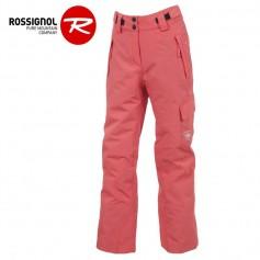 Pantalon de ski ROSSIGNOL Girl Ski Rose Femme