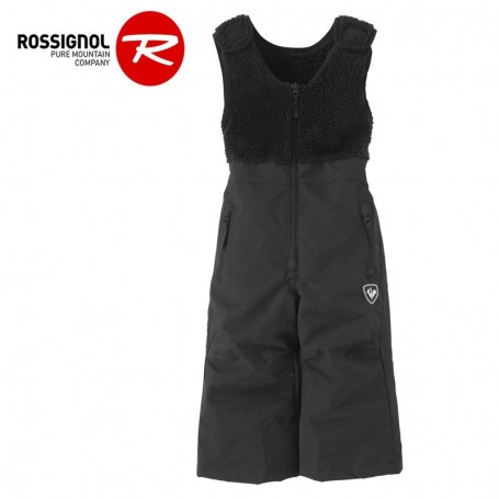 Salopette de ski ROSSIGNOL Kid Ski Noir Junior