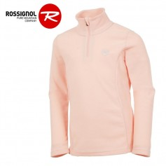 Polaire ROSSIGNOL Girl 1/2 zip Saumon Fille