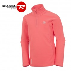 Polaire ROSSIGNOL Girl 1/2 zip Rose Fille