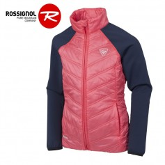 Veste zippée ROSSIGNOL Girl Clim Light Rose Fille
