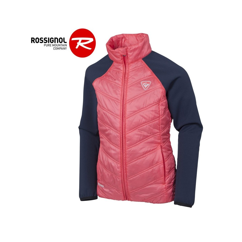 Veste zippée ROSSIGNOL Girl Clim Light Rose Fille