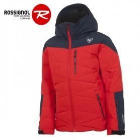 Doudoune de ski ROSSIGNOL Boy Polydown Rouge Garcon