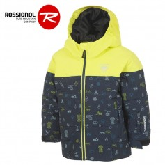 Doudoune de ski ROSSIGNOL Kid Flocon Jaune Junior