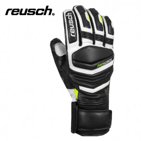 Gants de ski REUSCH Master Pro Noir / Blanc Hommo