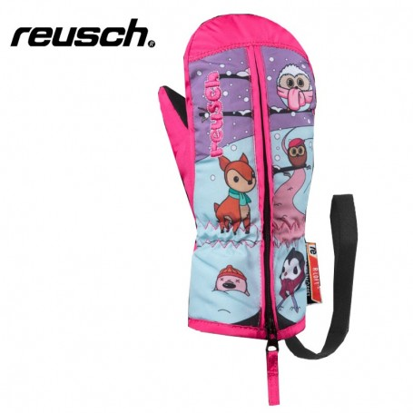 Moufles de ski REUSCH Meadow Rose BB Fille