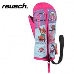 Moufles de ski REUSCH Meadow Rose BB Fille
