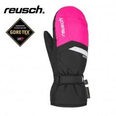Moufles de ski REUSCH Bolt Gtx Noir / Rose Junior