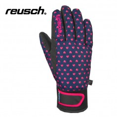 Gants de ski REUSCH Iris R-Tex Bleu / Rose Junior
