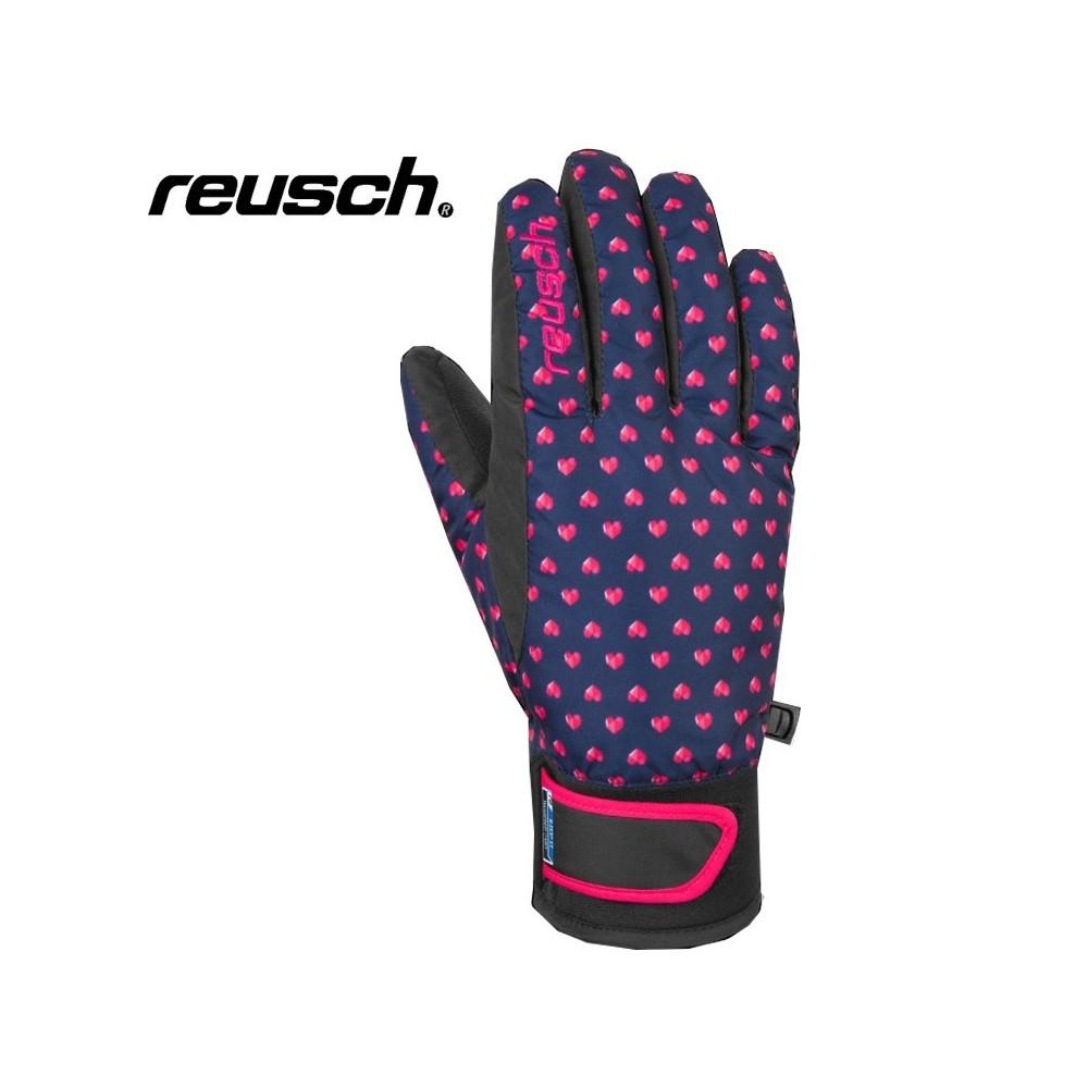 Gants de ski REUSCH Iris R-Tex Bleu / Rose Junior