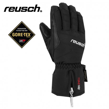 Gants de ski REUSCH X Cursion Gtx Noir Junior