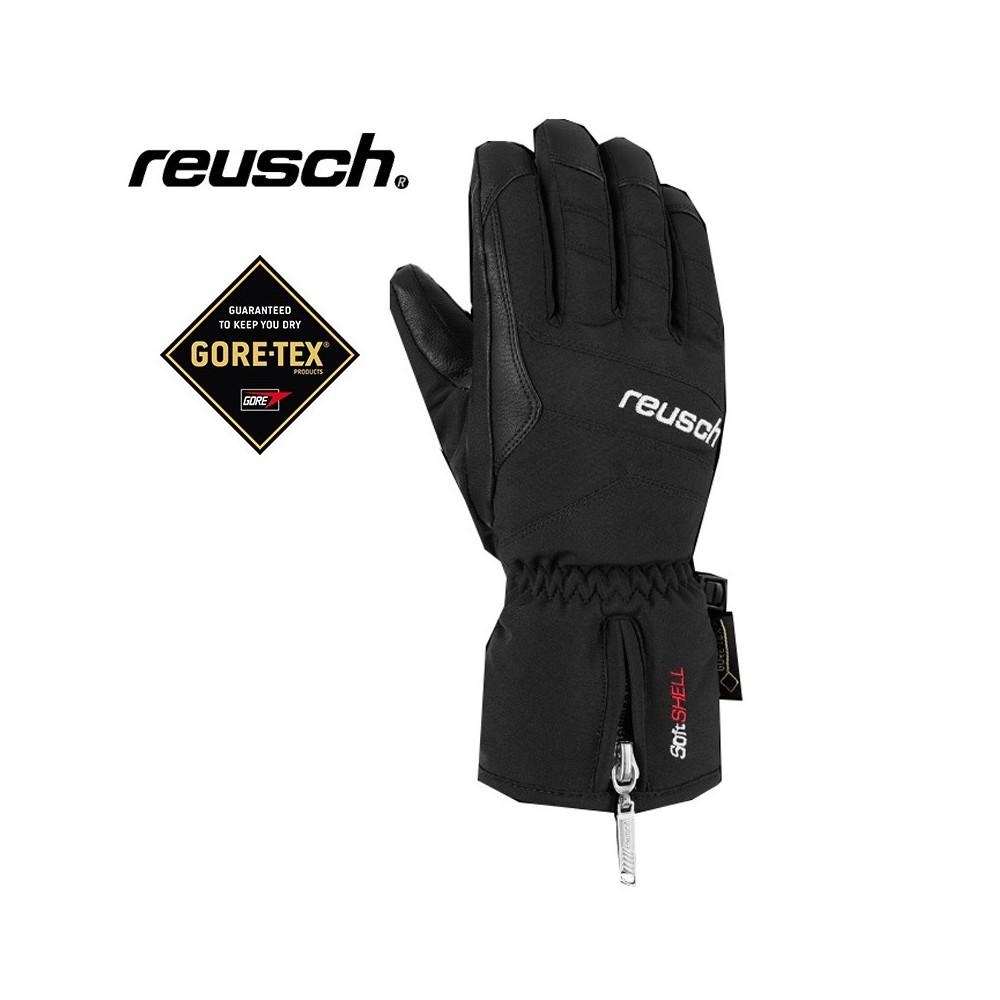 Gants de ski REUSCH X Cursion Gtx Noir Junior