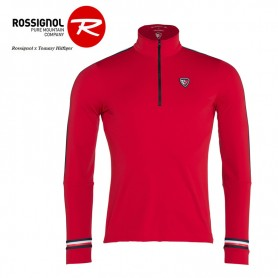 Maillot thermique ROSSIGNOL x HILFIGER Ryan Rouge Homme