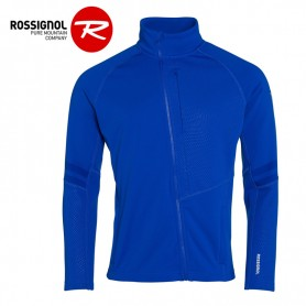 Veste zippée ROSSIGNOL Course Clim Bleu Homme