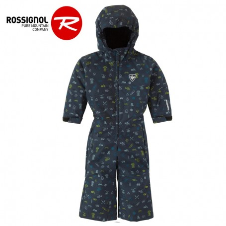 Combinaison de ski ROSSIGNOL Kid Flocon Bleu BB Garcon