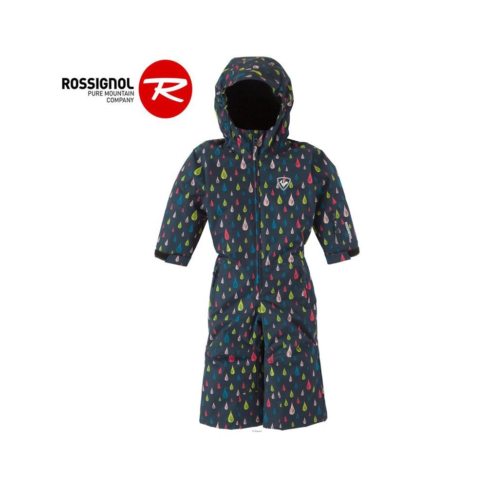 Combinaison de Ski ROSSIGNOL Kid Flocon Bleu Fille