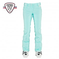 Pantalon de ski ROSSIGNOL 1907 Balme Turquoise Femme