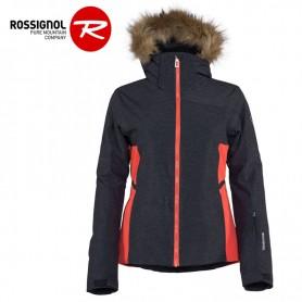 Veste de ski ROSSIGNOL Controle Oxford Gris / Rose Femme