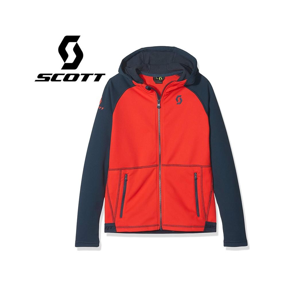 Veste SCOTT Defined Tech Bleu / Rouge Junior