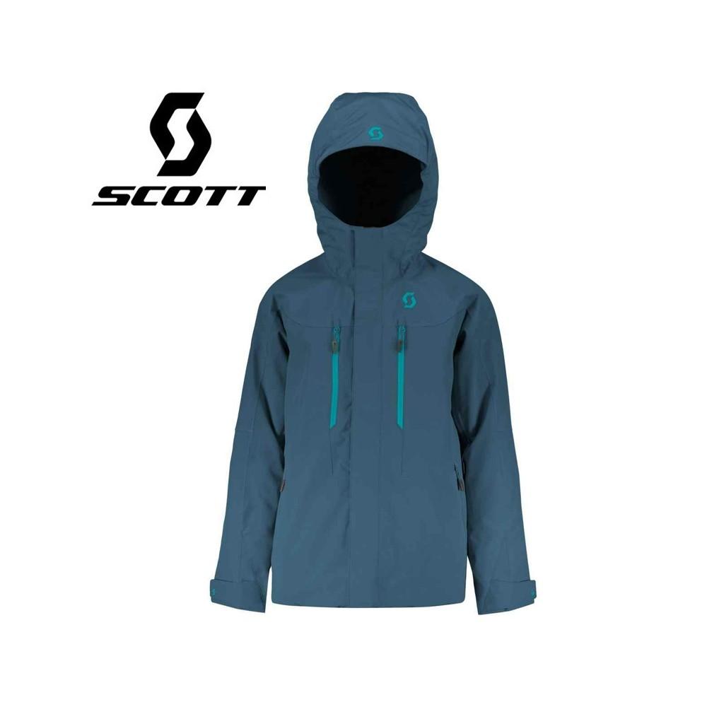 Veste de ski SCOTT Vertic Bleu nuit Junior