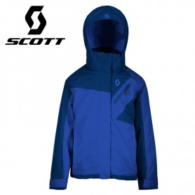 Veste de ski SCOTT Ultimate Dryo 10 Bleu / Violet Fille