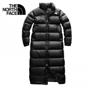 Doudoune longue THE NORTH FACE Nuptse Duster Noir Femme