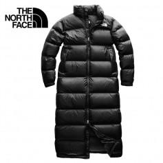 Doudoune longue THE NORTH FACE Nuptse Duster Noir Femme