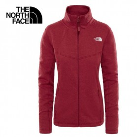 Polaire THE NORTH FACE Inlux Wool Rouge Rumba Femme