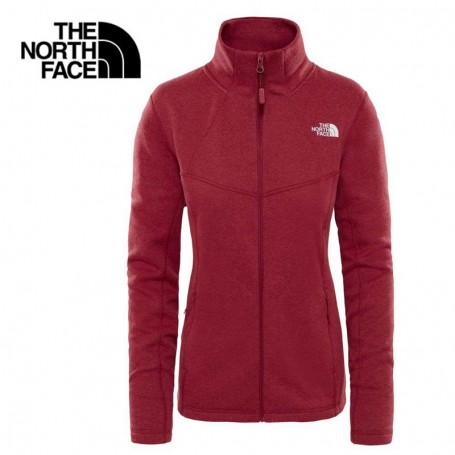 5410fa9435 Polaire THE NORTH FACE Inlux Wool Rouge Rumba Femme - Sport a tout prix